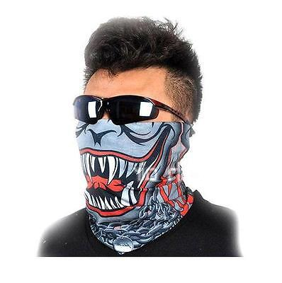 Monster MULTI SCARF WRAP FACE MASK HEAD BAND HAT BANDANA Triumph Victory Harley
