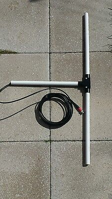Portable  Broadsword Dpg dipole antenna with 5 metres of coax and so239