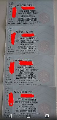 South West four tickets weekend x 2