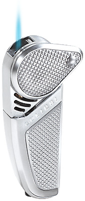Colibri silver Jet torch  Flame Lighter msrp$65 new in box  qtr397002