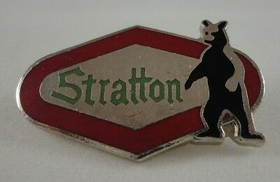 Stratton Skiing Ski Pin Badge Vermont VT Resort Souvenir Travel