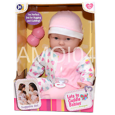 Berenguer Large Baby Doll Lots to Cuddle Babies 47cm Hugging and Cuddling *New