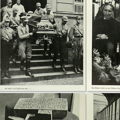 Very Rare book about the fallen † of the Third Reich w/100 photos German History