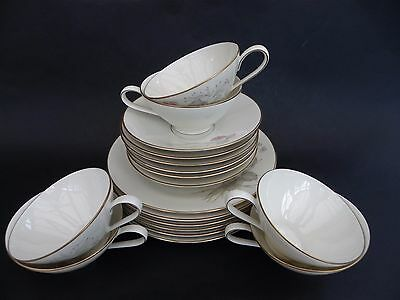 "Rosenthal Kronach Germany, Bettina, Cup Saucer & 7.5"" Plate, Set of 6."