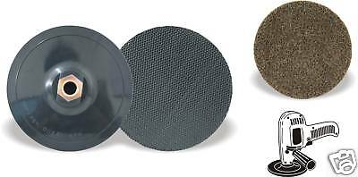 """Pack of 1, Keen #54731, 5"""" x 5/8""""-11 Gripper pad for Non woven SCD Discs"""