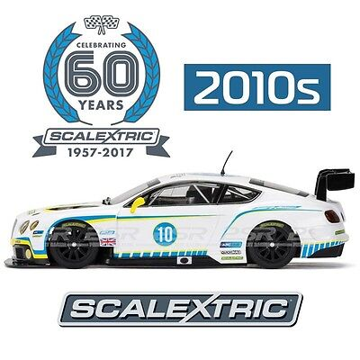 Scalextric C3831A 60Th Anniversary Edition Bentley Continental Gt3