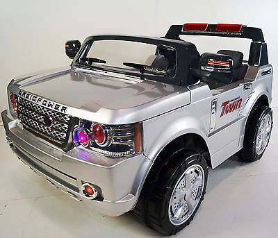 LAND ROVER For Kids 2 Seats (Model jj205) Battery Operated Ride On Car Silver