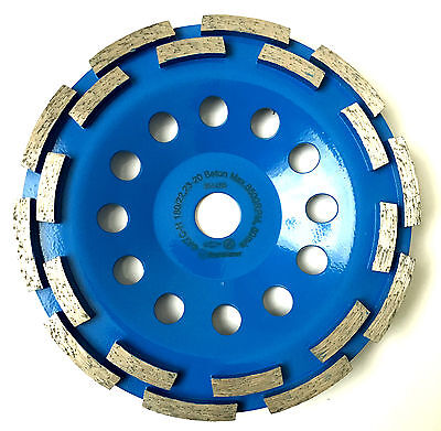 "180mm, 7"" professional diamond grinding disc, wheel, cup."