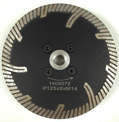 125mm Professional Vanity Diamond Blade For  Cutting Granite,Marble. M14 FLANGE