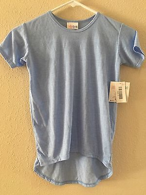 BNWT Kids Gracie Light Baby Blue Size 6 Top Tee Shirt Girl Boy