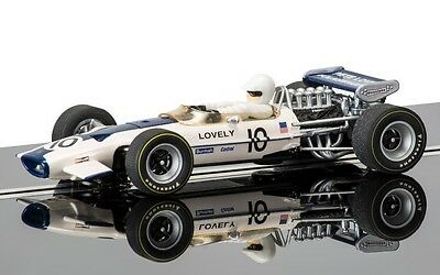 Scalextric C3707 Lotus 49 #10 Pete Lovely