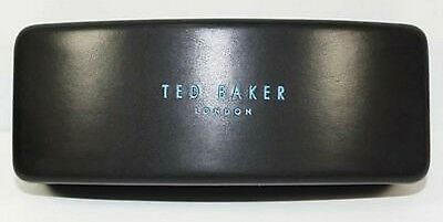 New Auth Ted Baker London Black Sunglasses Glasses Hard Case W/cleaning Cloth