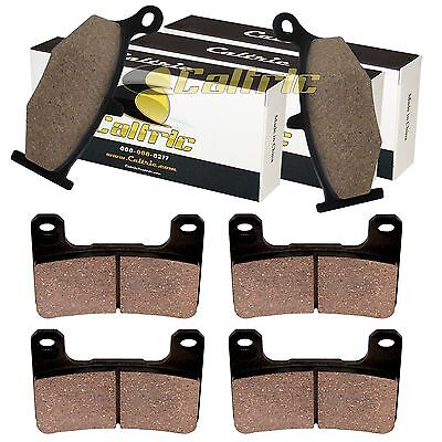 FRONT and REAR BRAKE PADS FIT SUZUKI DL1000A DL 1000A V-STROM ABS 2014-2016