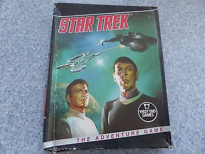 Star Trek The Adventure Game West End Games Classic Vintage Collectable Kirk