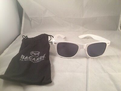 NEW BACARDI Flavored Rum Classic  White Cocktail Sunglasses