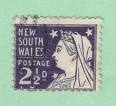 mjstampshobby 1892 New South Wales SG Nr296b Used VF Cond (Lot2789)