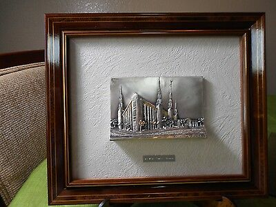 Mormon Temple Art - Las Vegas - Brunel Picture - High Relief Silver and Gold