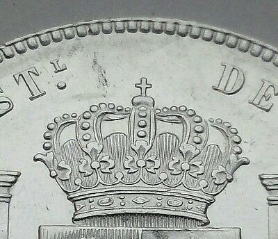Spain 5 Pesetas 1885. KM#688. Silver Crown coin. Alfonso XII. 6-pointed stars