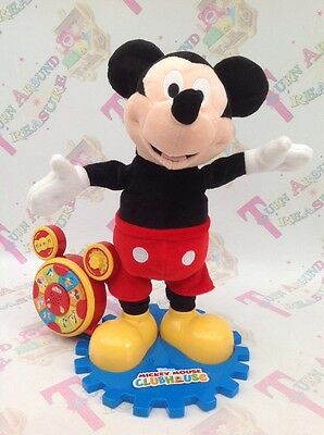 Disney Mickey Mouse Clubhouse Story Teller Talking Singing Moving Toy GREAT FUN!