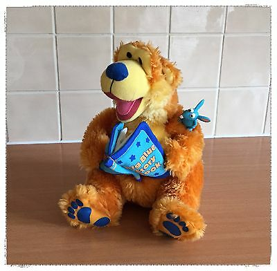FISHER PRICE Bear in the Big Blue House Storytelling Bear, Plush Interactive Toy