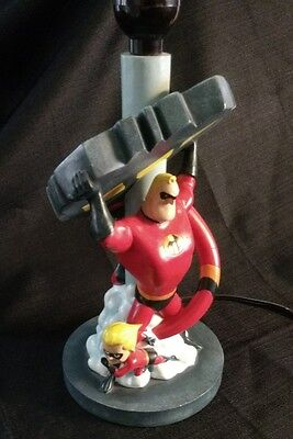 Disney Catalog The Incredibles Bedside Lamp Light Dash Bob Violet