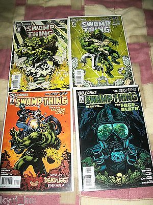 SWAMP THING 1 2 3 4 5 6 7 8 9 1st PRINT THE ROT SNYDER PAQUETTE NEW 52 DC B8