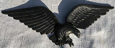 "Vintage ROYAL Cast Metal ALUMINUM 22"" American Eagle Wall Hanging Plaque"