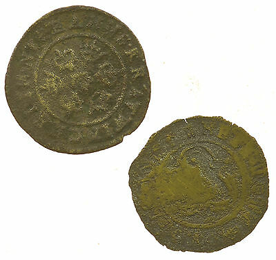 Token, Early Jeton Reckoning Counter, 2 Coins