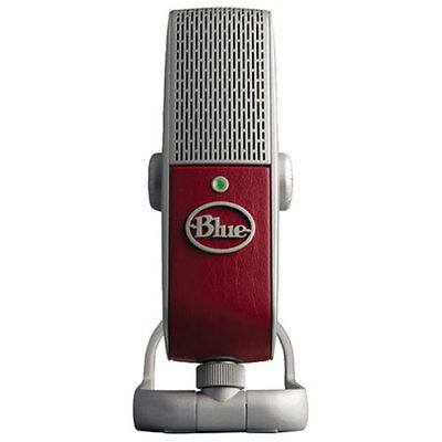Blue Microphones Raspberry Mobile USB Condenser Microphone Brand New