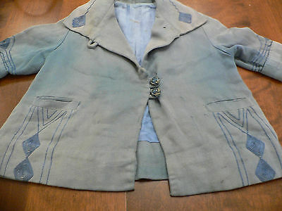 1920's- 30s Child's  Art Deco  Coat with Embroidery