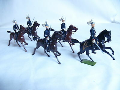 Britain Soldiers Canadian Governor-General's Horse Guards  5 Pcs Set # 1631