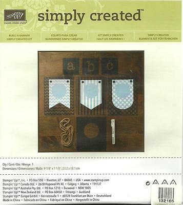 BUILD A BANNER SIMPLY CREATED & CHRISTMAS & HALLOWEEN  ACCSSRY KITs-STAMPIN' UP!