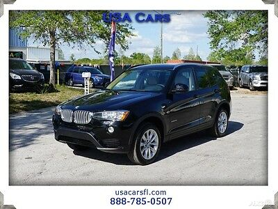 2017 BMW X3 xDrive28i 2017 BMW X3 xDrive28i AWD Navi Pano Roof Camera Leather w/heat