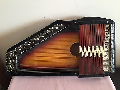 Vintage Autoharp Made In Japan ( Without Case )