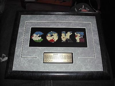Beautiful Coke Coca Cola Polar Bear 1997 Pin Set 1 Of #2,500 Framed Limited