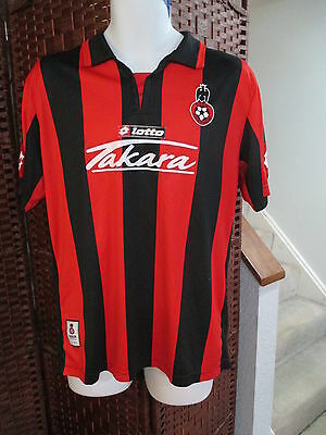 Lotto OGC Nice Soccer Jersey Size Adult L/XL French Football France