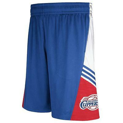 15a9f5113 Los Angeles Clippers Adidas 2014 Men's Royal Blue Pre-Game Basketball Shorts