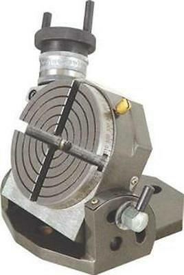 "Brand New Tilting Rotary Table 4"" / 100Mm For Milling And Drill Machines"