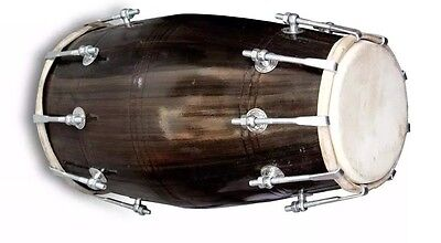 Dholak Drums~18-Bolt Tuned~Made With Mangowood~Dholki 003
