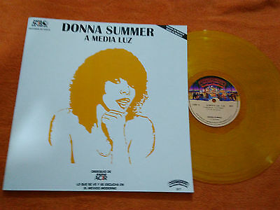 """Donna Summer """"a Media Luz"""" Mexico Promotional Rare Ps Mexican Issue Radio"""