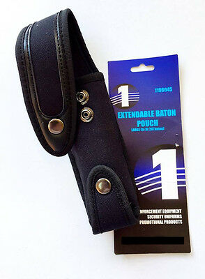 Signalone Extendable Large Baton Pouch Black holds up to 26 inch Baton