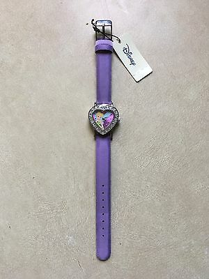 Genuine Disney Heart Shaped Diamanté Tinker bell Watch