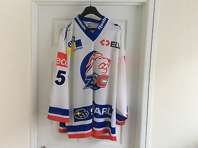 Mattia Baldi Signed Zurich Lions ice hockey jersey XL NEW