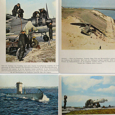 Wehrmacht in Action 1940s of German WW2 Agfa Color Photos Luftwaffe Kriegsmarine