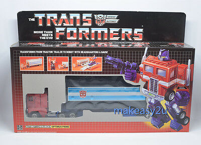 Childhood recall Transformers g1 optimus prime 6 inches Toy Action Figure New
