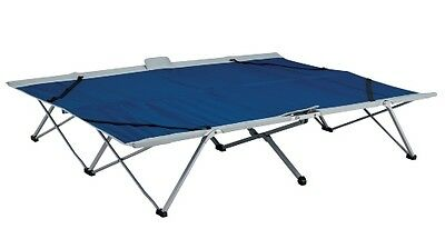 Oztrail Easy Fold Stretcher Queen Size Camping Bed