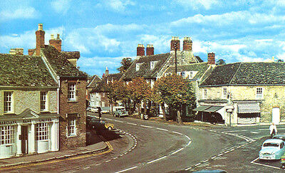1960s postcard Burford Street LECHLADE Gloucestershire