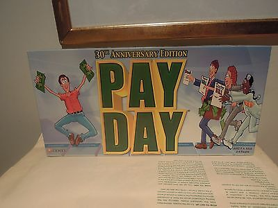 Payday - Board Game 30TH ANNIVERSARY COMPLETE IN GOOD ORDER