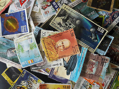 Sri Lanka/ Ceylon Unsorted Collection Of Over 100 Stamps Most Good Used