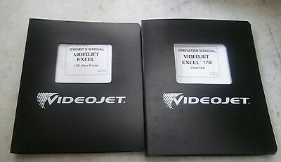 Videojet 170i Owners Manuals New & Used